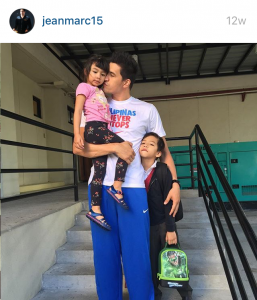 A photo posted by Marc Pingris (@jeanmarc15) on Instagram.