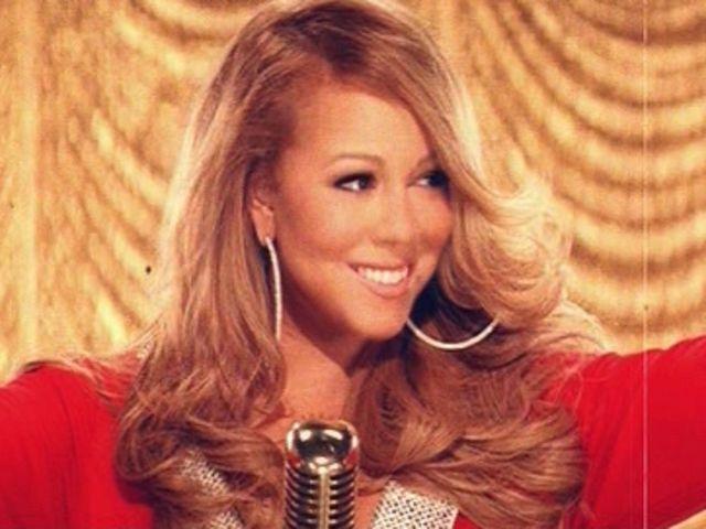 "Screencap from Mariah Carey's ""Oh Santa"" music video courtesy of"