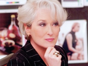 Screencap from The Devil Wears Prada  courtesy of Warner Bros. F.E.