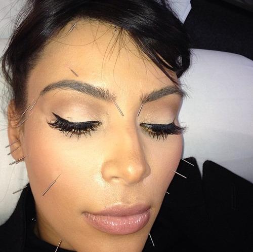 Photo of Kim Kardashian via Tumblr