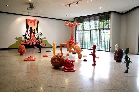 Photo from Monica Barreto of Leeroy New's Exhibition in Vargas Museum via Juice.ph