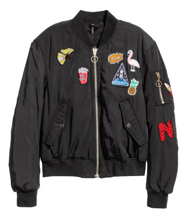 Bomber Jacket from H&M, PHP 2,290