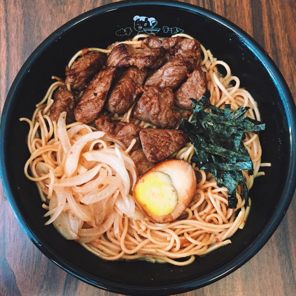 Photo taken from their official Facebook page, featuring their Beef Teppanyaki Ramen