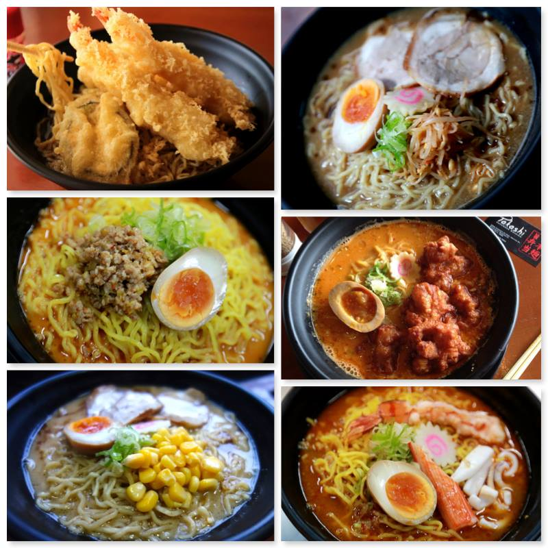 Photo taken from their official Facebook page, featuring their selection of ramen