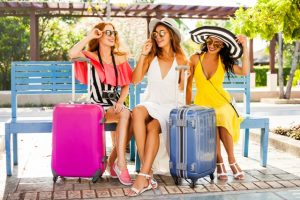 Girlfriends Traveling