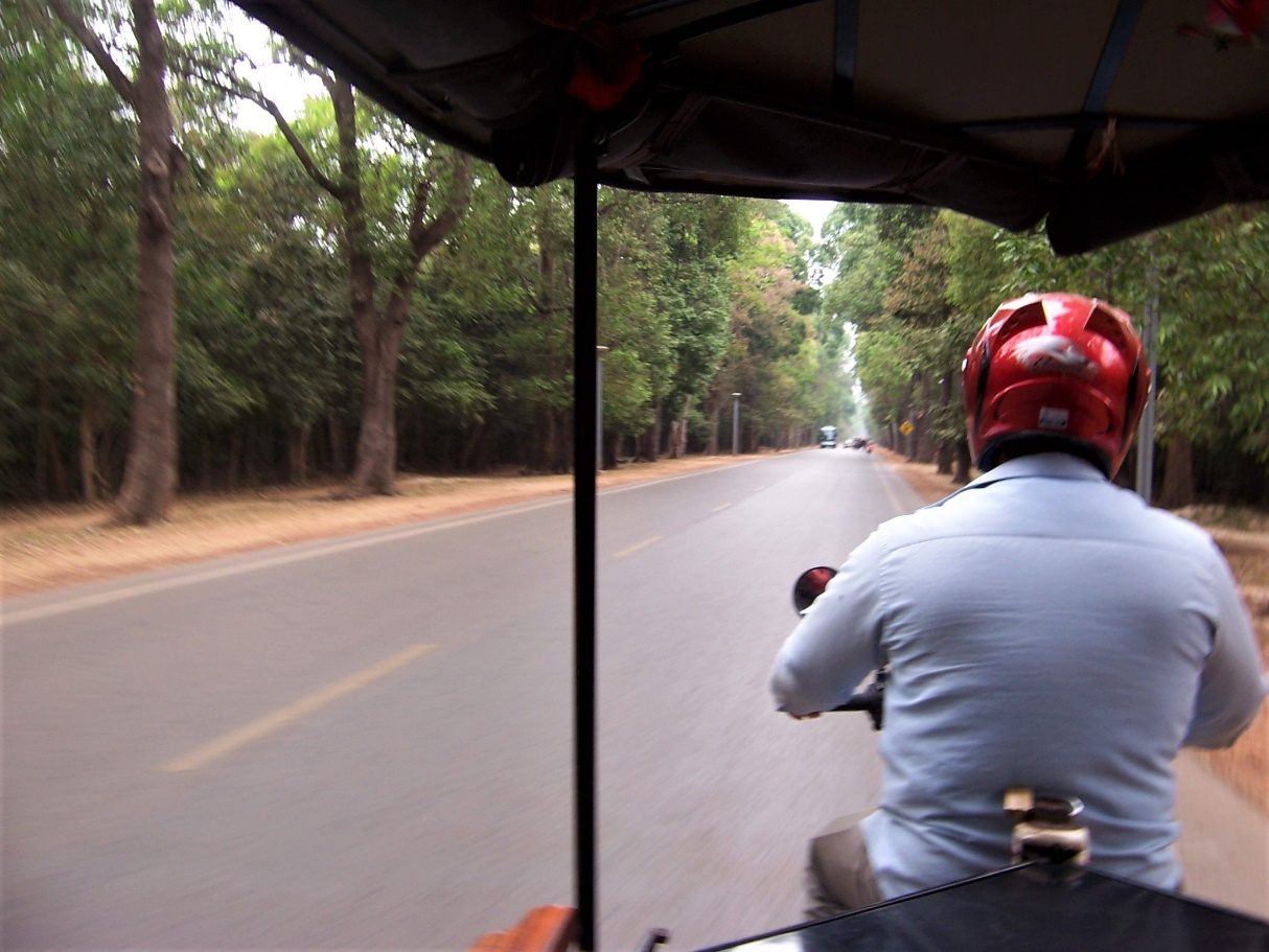 The Road to Angkor Wat