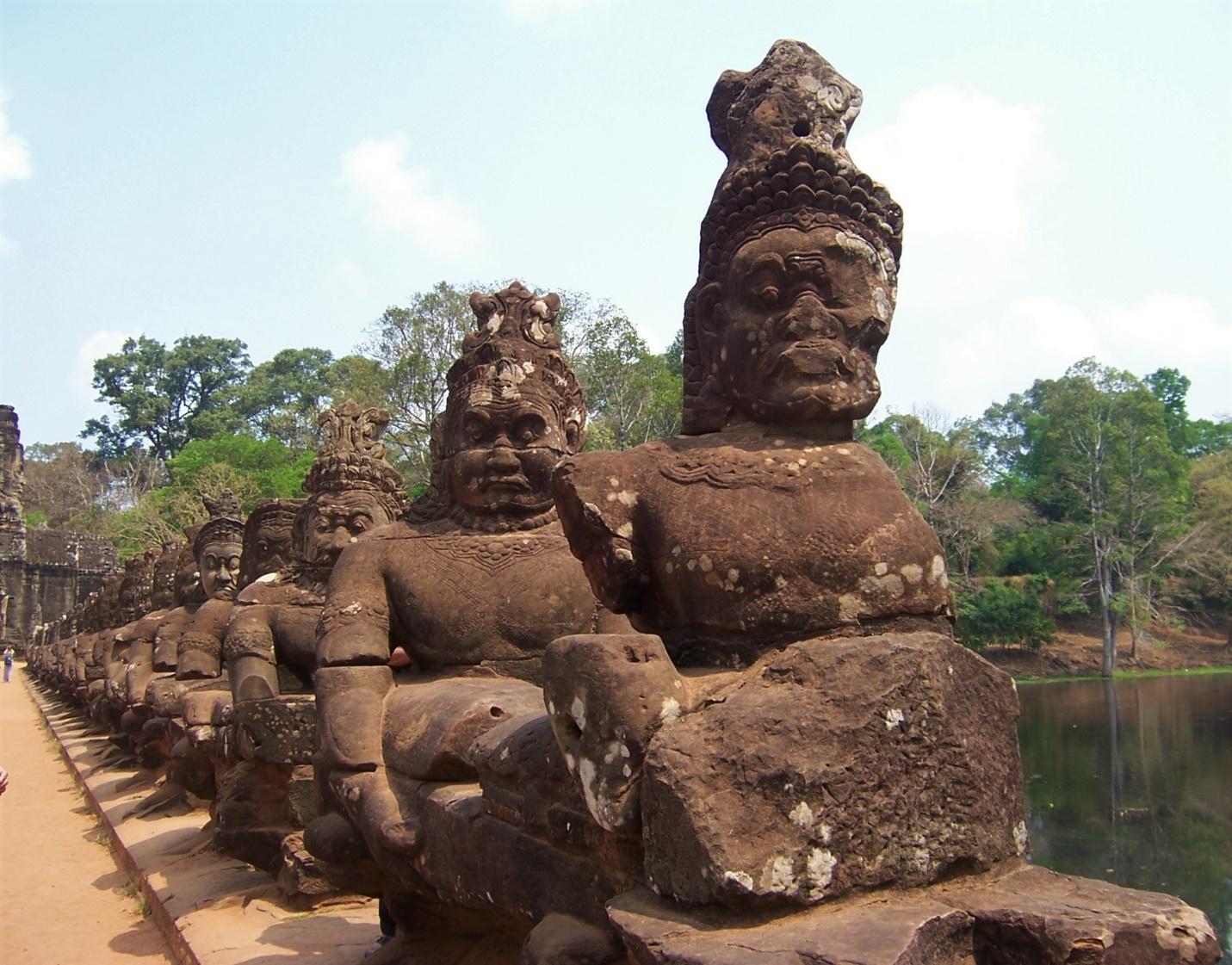 Angkor Thom's Victory Gate