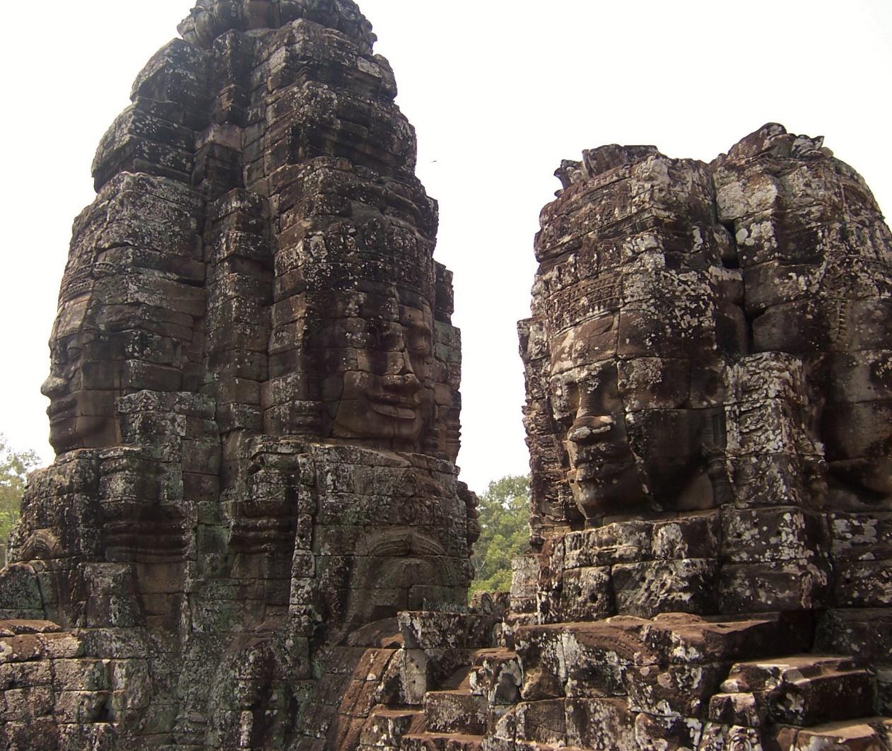 The Bayon Ruins