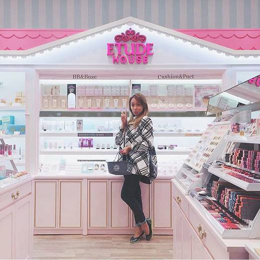 Young Girl Posing in Etude House
