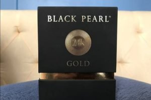Black Pearl Gold Packaging
