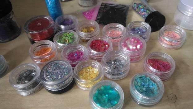 Assorted Craft Glitter