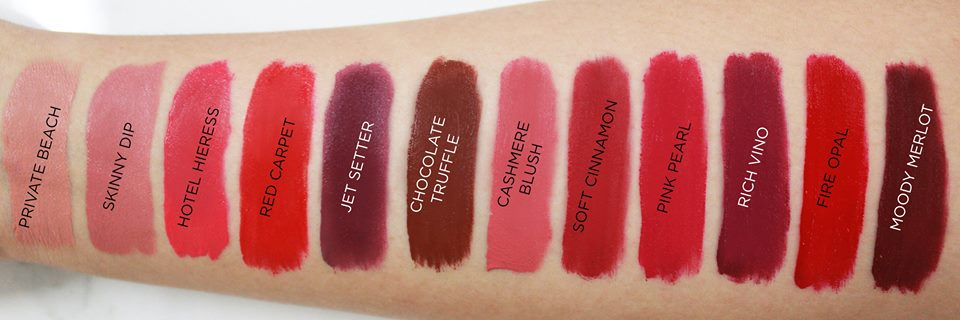 Lipstick Swatch from Ever Bilena