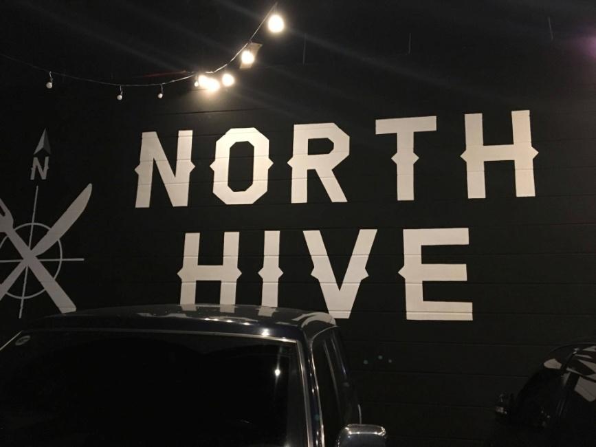 North Hive Signage