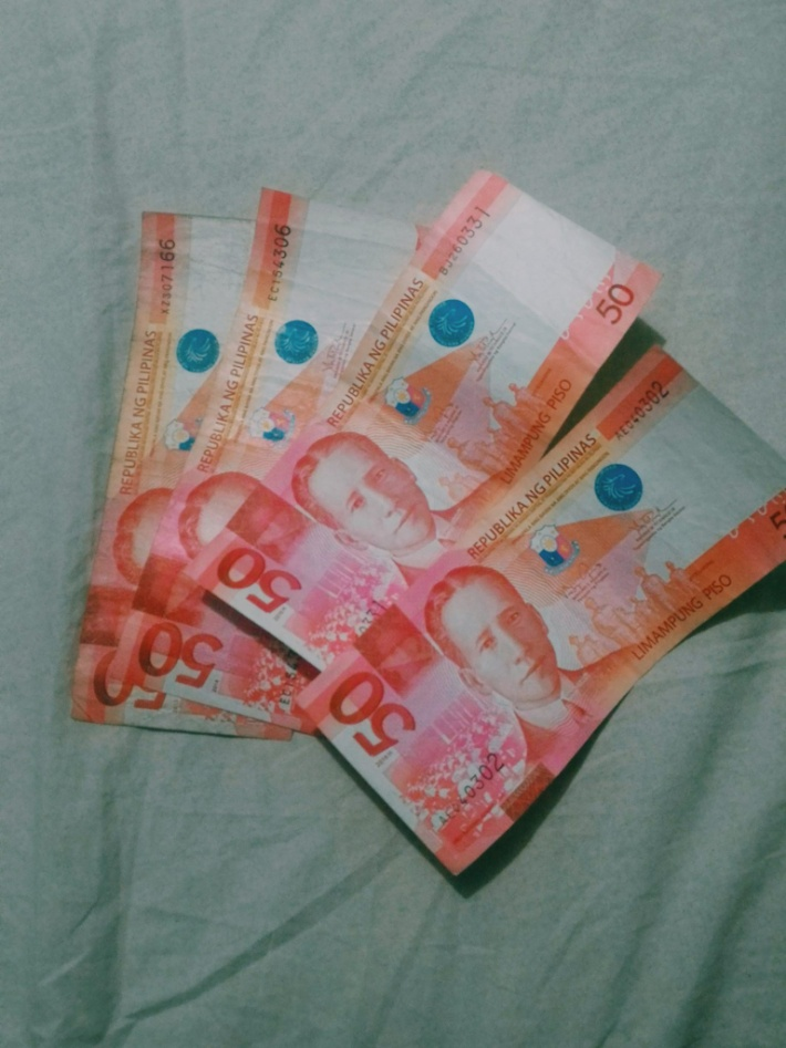 Fifty Peso Bills