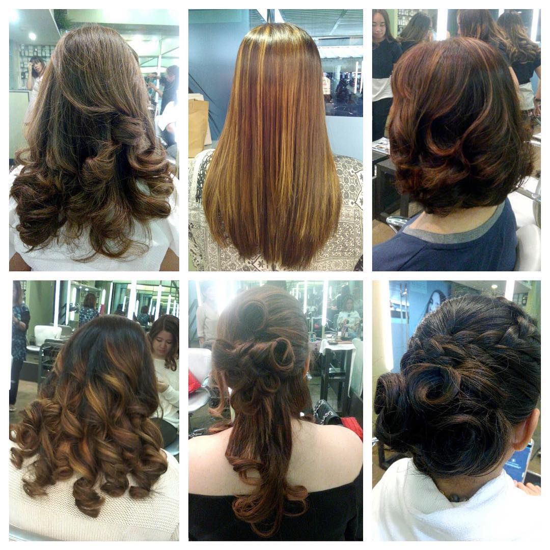 Sample of Hair Styles