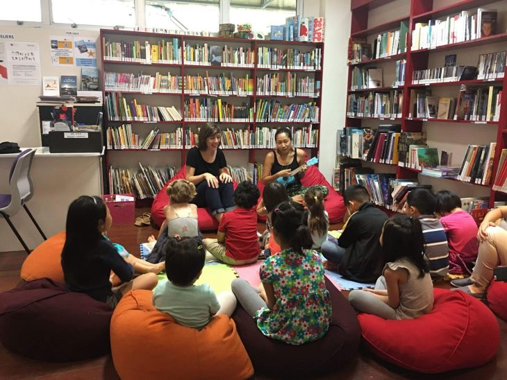 Alliance Française de Manille Story Reading