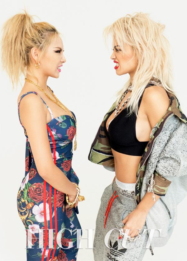 CL and Rita Ora