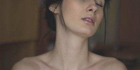 Woman After Her Beauty Regimen