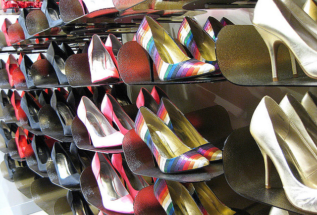A Rack of Shoes