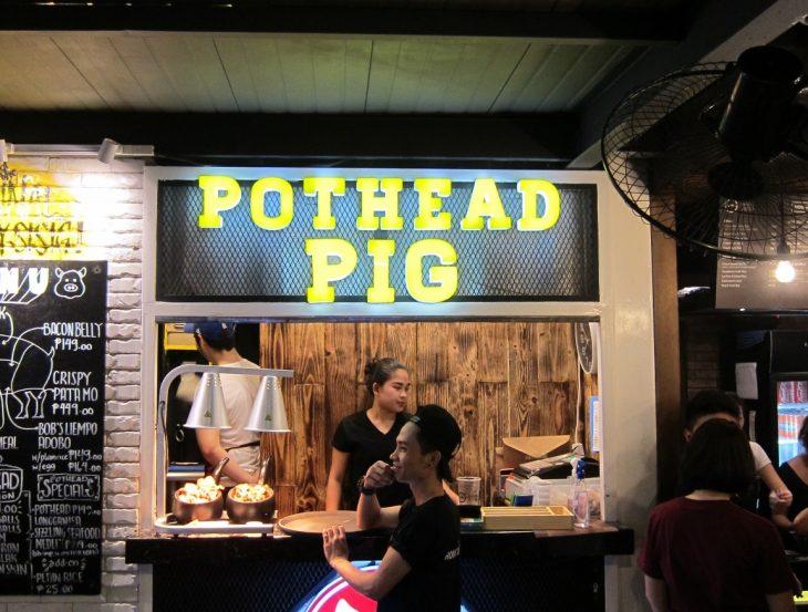 Pot Head Pig