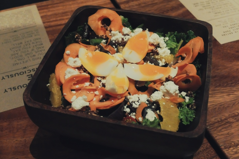 Salad from The Wholesome Table