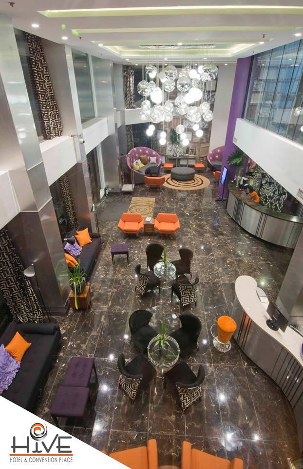 Hive Hotel Interior