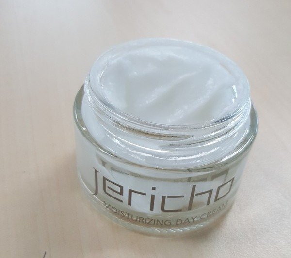 Opened Jar of Jericho Day Cream
