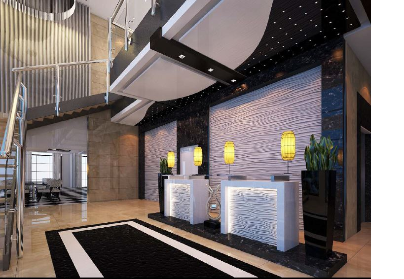 Y2 Residence Hotel Interiors