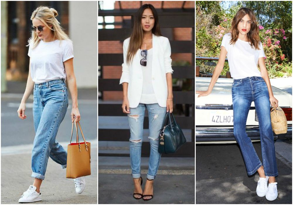 3 Ways To Wear Plain White Tee