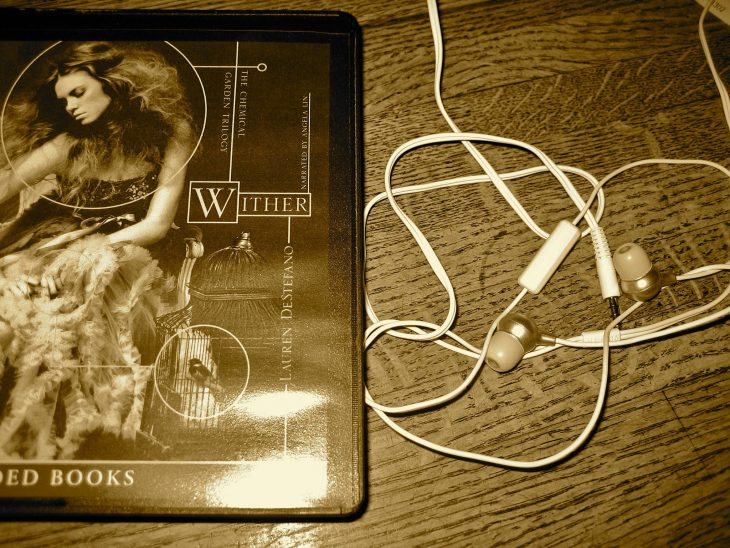 A Book And An Earphones