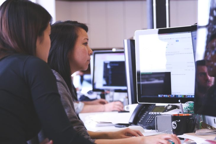 Women In A Workplace